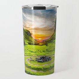 Fairytale Landscape, Isle of Skye, Scotland Travel Mug