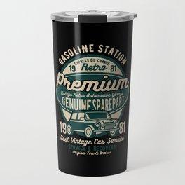 gasoline station premium Travel Mug