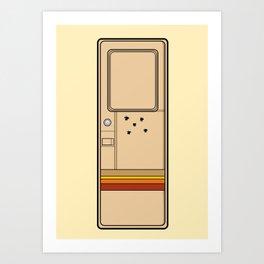Breaking Bad (Broken Door) Art Print