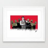 daryl dixon Framed Art Prints featuring Daryl Dixon by ArtisticCole