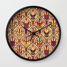 Kilim Fabric Wall Clock