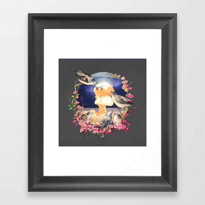 Second Sun  Framed Art Print