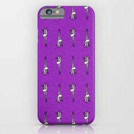 Skeletal Hand Purple #Halloween iPhone Case