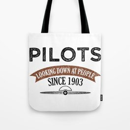 Pilot Proud Aviation Lover Gift Idea Tote Bag