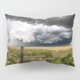Aquamarine - Storm Over Colorado Plains Pillow Sham