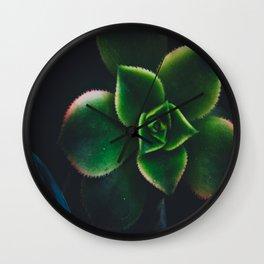 The Succulent Garden 2 Wall Clock