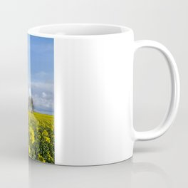 Sunny Delight (Landscape),OSR field in flower Coffee Mug