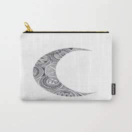 Crescent Mandala Moon 2 Carry-All Pouch