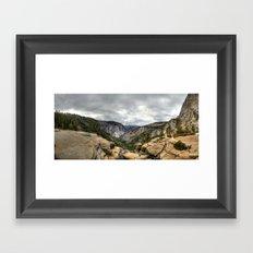 Nevada Falls Framed Art Print
