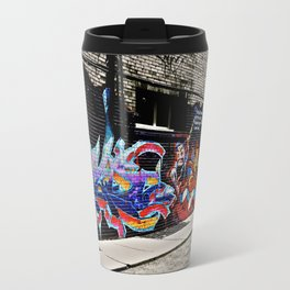 street art Metal Travel Mug