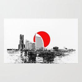 Modern Japan - Yokohama 2 Rug