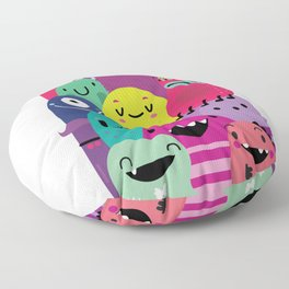 Pile of awesome Floor Pillow