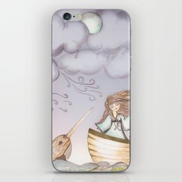 Spirit of the Narwhal iPhone Skin