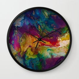 modern marble m Wall Clock