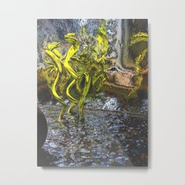 copper chrome and electric eels Metal Print