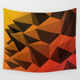 Spiky Brutalism - Swiss Army Pavilion Wall Tapestry