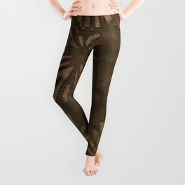 Coconut Batik 03 Leggings
