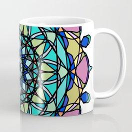 element colors ornamental mandala Coffee Mug