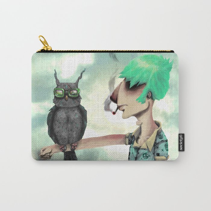 Punk N' A Bird Carry-All Pouch