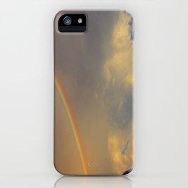 .over the rainbow. iPhone Case