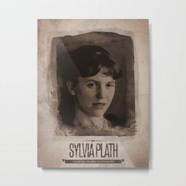 Sylvia Plath Metal Print