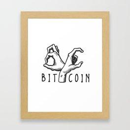 Bitcoin Gang Framed Art Print