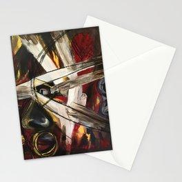 The humane behind masks Stationery Cards
