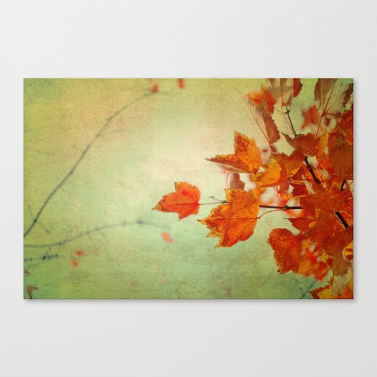 Whispers of Autumn Canvas Print