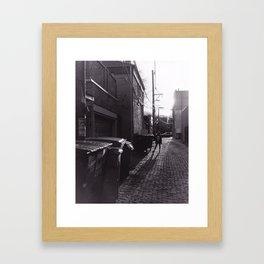 Misfit Framed Art Print