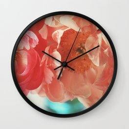 Paeonia #4 Wall Clock