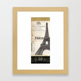 Paris Ooh La La 1 Framed Art Print