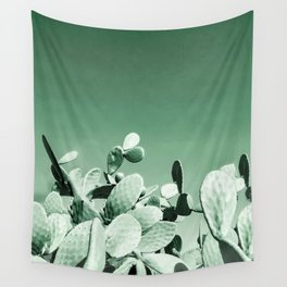 Cactus prickly pear Wall Tapestry