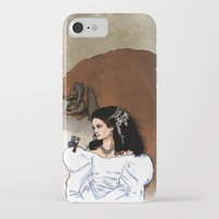 beauty and the beast iPhone & iPod Cases featuring Beauty and Beast by Adrien ADN Noterdaem