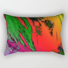 Jagged Rectangular Pillow