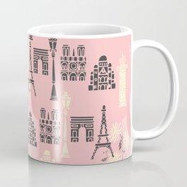 Cute Paris Print Coffee Mug