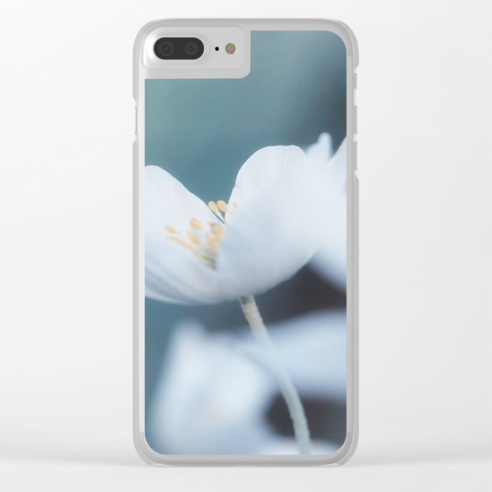 Windflower Clear iPhone Case