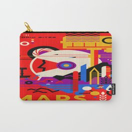 Vintage poster - Mars Carry-All Pouch