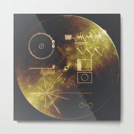 Cosmic Message Metal Print