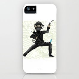 Cyber Ninja iPhone Case