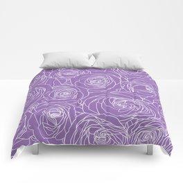 Amethyst Roses Comforters