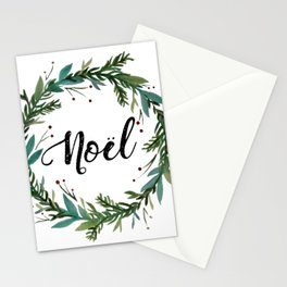 Noel Wreath Stationery Cards