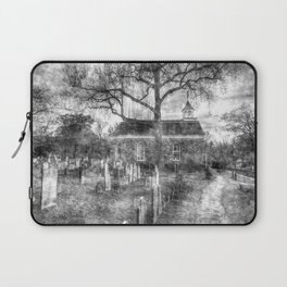 Old Dutch Church Of Sleepy Hollow Vintage Laptop Sleeve