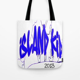 Island Kid Blue Wave Tote Bag