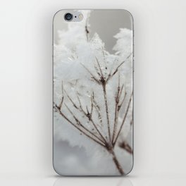 Winter macro iPhone Skin