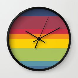 01 Rainbow Wall Clock