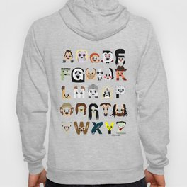 Horror Icon Alphabet Hoody