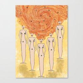 space women Canvas Print