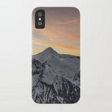 Peaks II iPhone X Slim Case