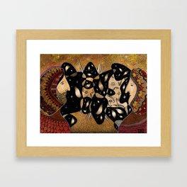 Dissonance Framed Art Print
