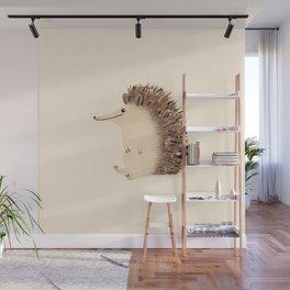Happy Hedgehog Sketch Wall Mural